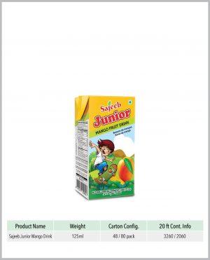 Sajeeb Junior Mango Fruit Drink