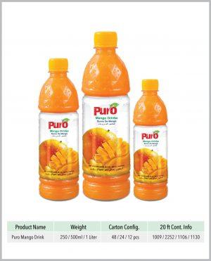 Puro Mango Drink