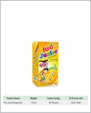 Puro Junior Mango Fruit Drink