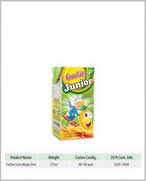 Frootina Junior Mango Fruit Drink
