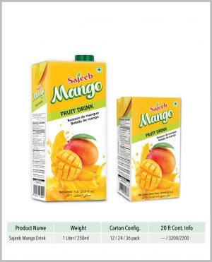 Sajeeb Mango Fruit Drink